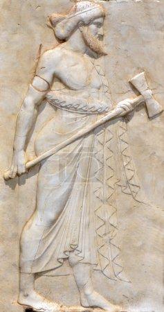Sculpture of God Vulcan