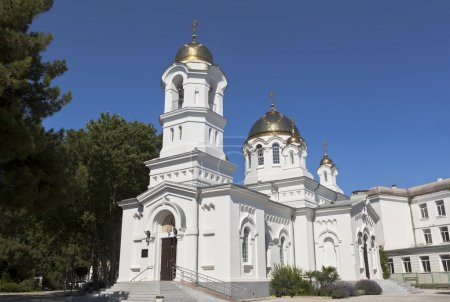 Holy Ascension Cathedral in the city Gelendzhik, Krasnodar region, Russia