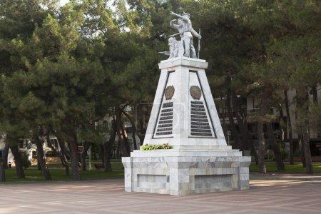 "Monument ""To Fighters for Soviet Power"" on the waterfront Gelendzhik, Krasnodar region, Russia"