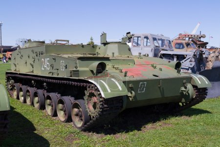 Soviet tank of times of