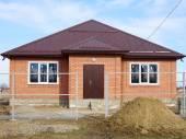 Budování  staveniště v průběhu do nového domu