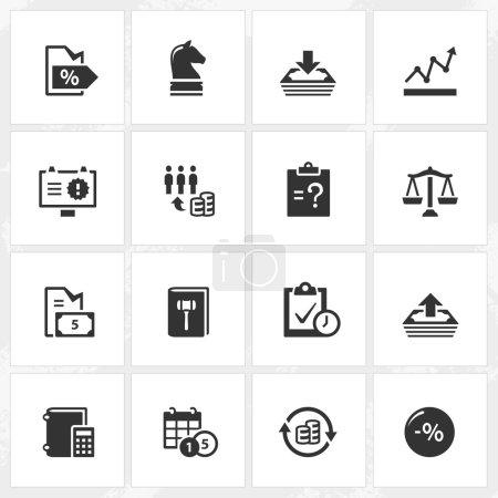 Business Enterprise Icons