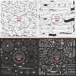 Very large collection of hand drawn vector design ...