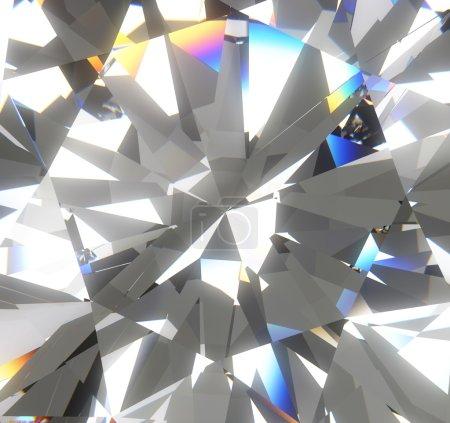 Foto de Backgroiund de diamante colorido brillante y luminoso - Imagen libre de derechos