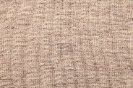 Brown knitted melange textile pattern