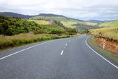 Winding road in New Zealand