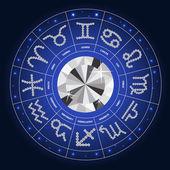 Set of Symbol Zodiac Sign Diamond Vector Illustration EPS10