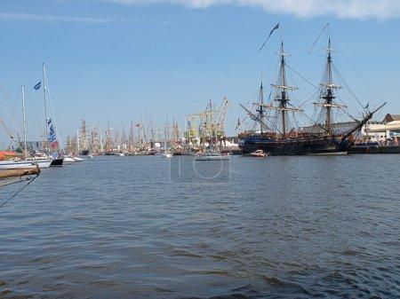 Big sailboats.