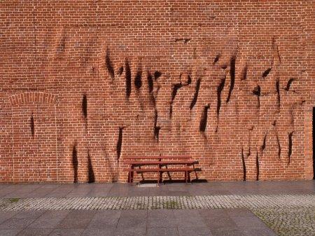Radogoszcz- death camp wall.
