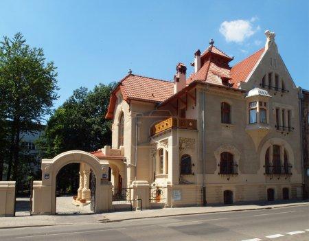 Art Nouveau villa Leopold Kinderman.