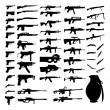Vector Set - Weapons - Pistols, Sub Machine Guns, ...