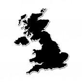 Forma del paese del Regno Unito
