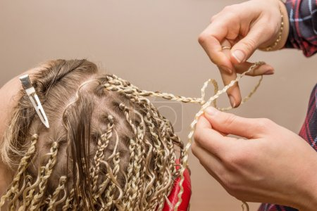 weaving braids