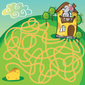 Maze  with mouse