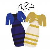 Popular puzzle what color of dress white and gold or black and blue