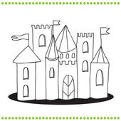 Art Illustration of a Castle