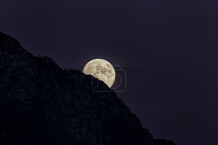 The Moon on the Mountain