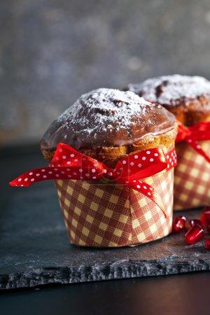 Gâteaux de muffin au chocolat