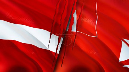 Latvia Wallis and Futuna, Latvia vs Wallis and Futuna, Latvia Wallis and Futuna flag,Latvia and Wallis and Futuna, 3d,background,closeup,color,colorful, competition,concept,cooperation,country,design,flag,3D rendering,government,relations,internation