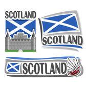 Vector logo for Scotland