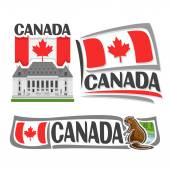Vector logo for Canada