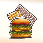 Vector logo big burger
