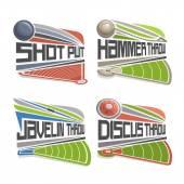 Vector logo for Athletics Field