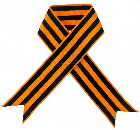Black orange strip