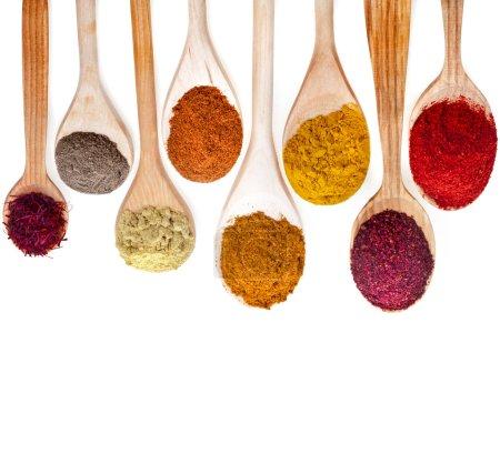 Powder spices Assortment