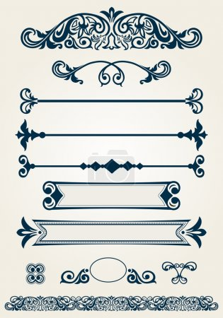 Page dividers and decorations