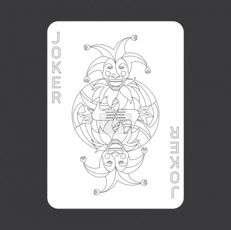 Illustration for Illustration of playing cards. Quality image, classic design. - Royalty Free Image