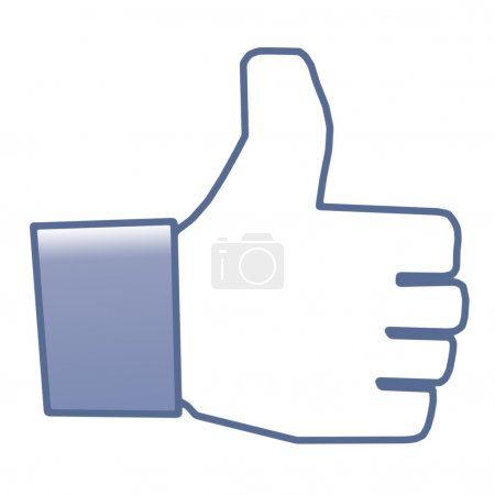 Like thumb up, Facebook