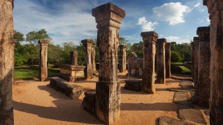 Panorama of ancient ruins
