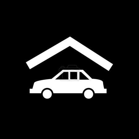 Garage real estate icon