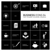 Bussines icons set
