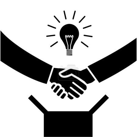 icon of hand shake