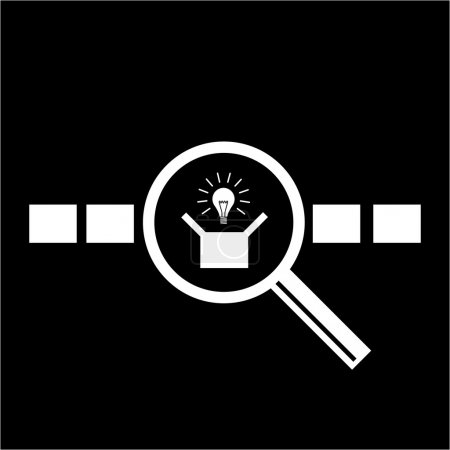 icon of searching new idea