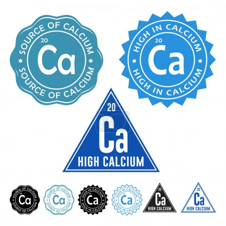 High in Calcium Seal Icon
