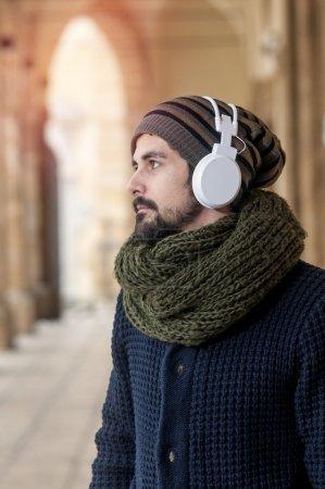 hipster generation listenin music instagram style toned