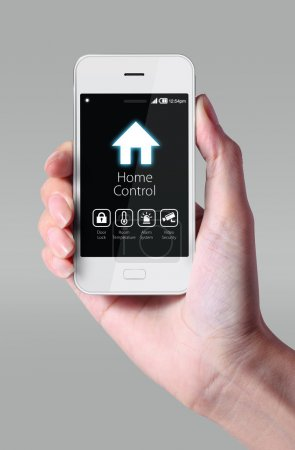 Home control with smartphone