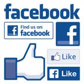 Facebook icons Facebook is the worlds largest social network