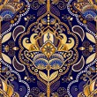 Paisley seamless pattern. Floral ornamental backgr...
