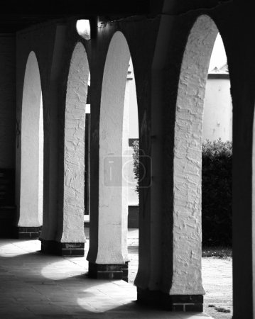 Cloister Arches, Monochrome