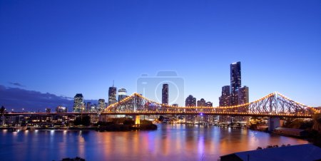 Brisbane city, night