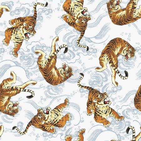 Pattern of tiger