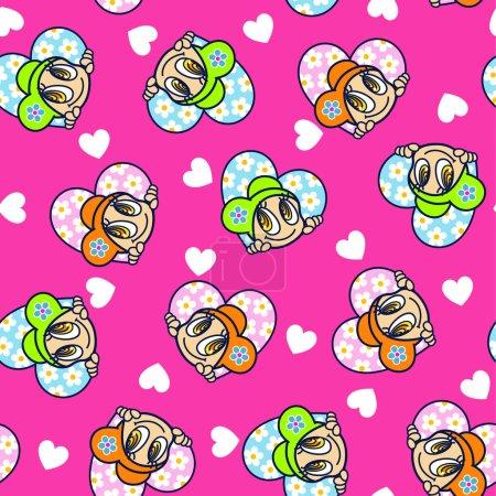 Pretty girl pattern