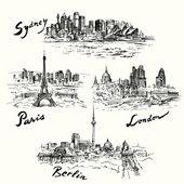 Paris Berlin London Sydney