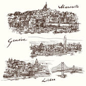 Marseilles Geneva Lisbon