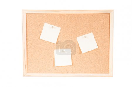 Cork board with posits