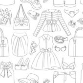 Ladies Clothing and Accessories pattern